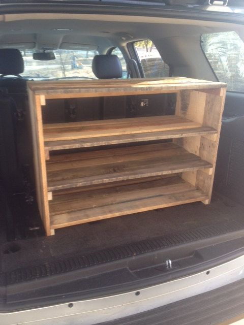 Large Handmade Shoe Rack And Shelf Made From Reclaimed
