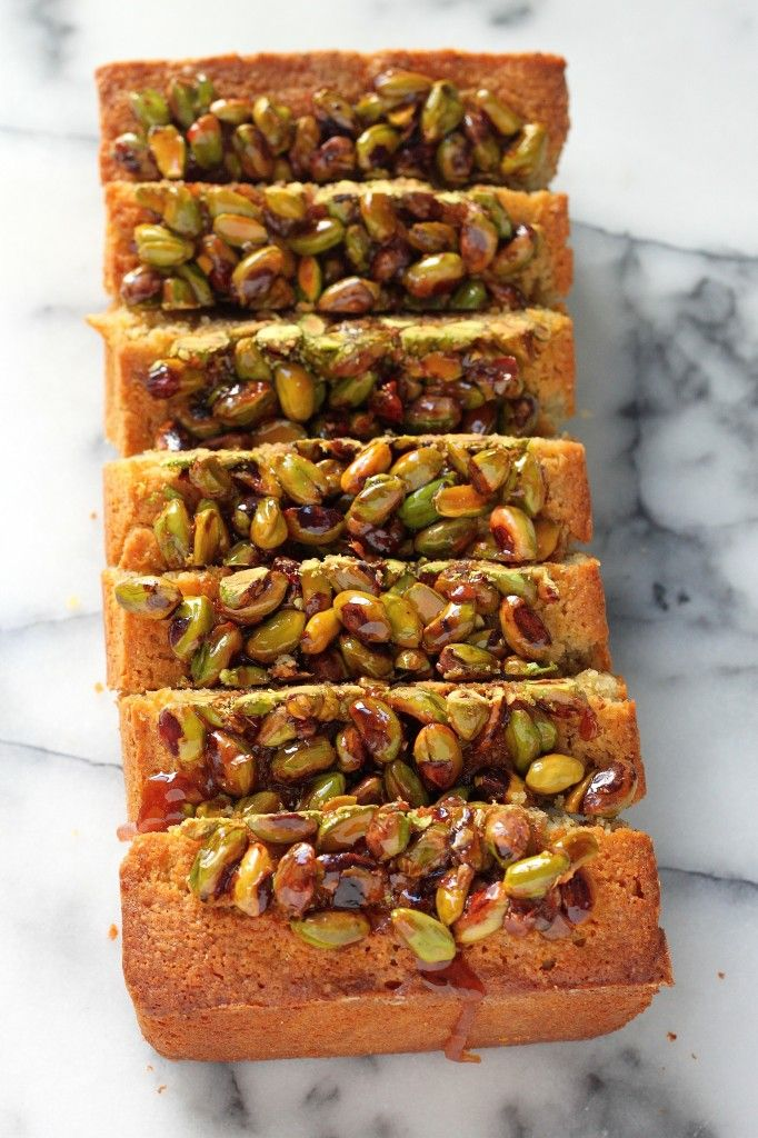 Pistachio Pound Cake - Moist, nutty, pistachio packed pound cake! This ...