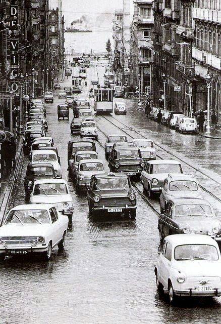 Rúa de Colón. Anos 60