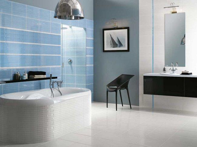 9-idei asortare si combinare faianta si mozaic decor baie moderna