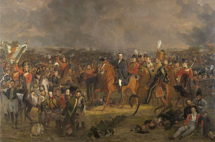De Slag bij Waterloo, Jan Willem Pieneman, 1824