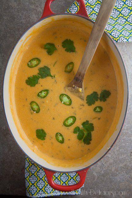 Thai Corn Chowder | Healthy-Delicious.com