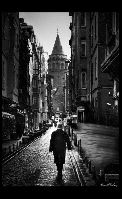 Rain man by *onurkorkmaz on deviantART (Istanbul 2009)
