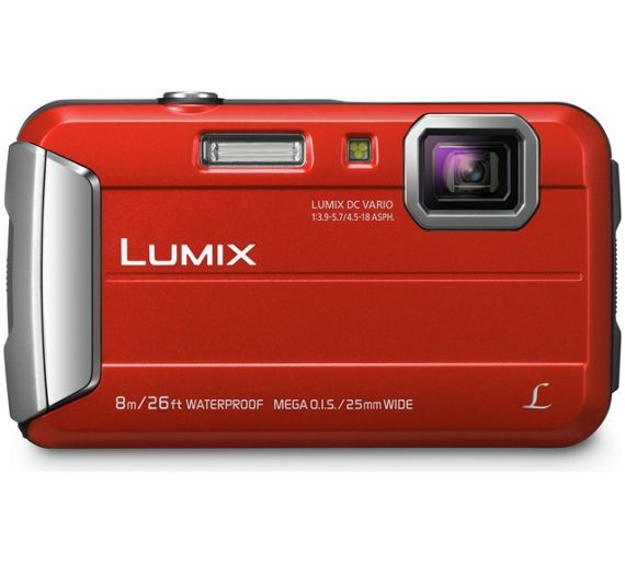 Buy Panasonic FT30 16MP Waterproof Camera - Red at Argos.co.uk - Your Online Shop for Tough and action cameras, Cameras, Cameras and camcorders, Technology.
