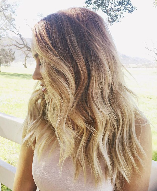 Beautiful Blonde Hair Ideas 1: These Are The Best Celebrity Hair Changes From Instagram