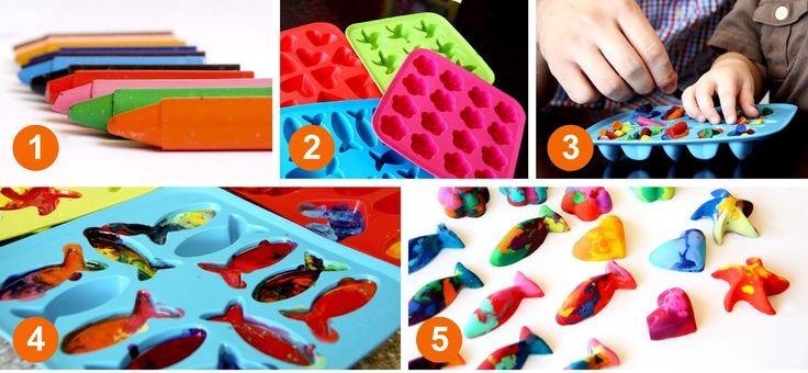 Lápices de colores reciclados. Podéis aprender cómo hacerlos en mi último post: http://jugarconlacreatividad.blogspot.com.es/…/lapices-de-c… #lapicesreciclados #arteparaniños #manualidadesparaniños #jugarconlacreatividad http://fb.me/7df6OLwaO