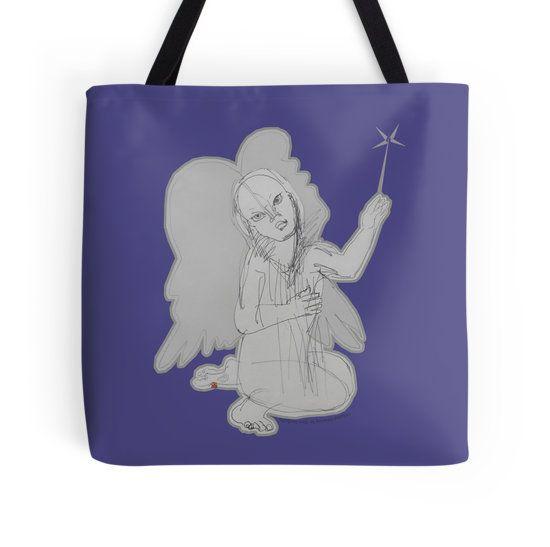 The Fairy Angel  (Original Art Hand Drawing by Alice Iordache)
