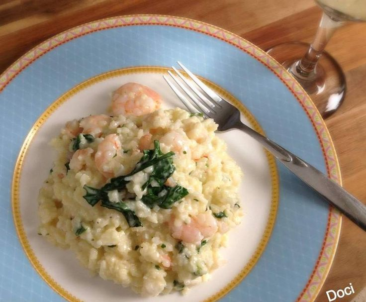 Recipe Creamy Prawn risotto by Doci - Recipe of category Pasta & rice dishes