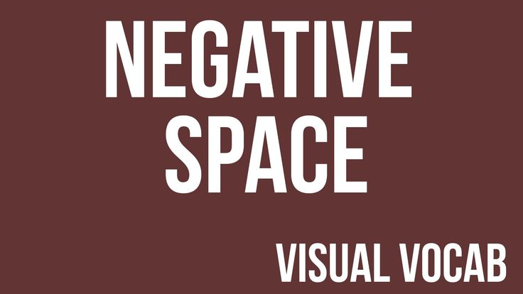 Negative Space defined - From Goodbye-Art Academy