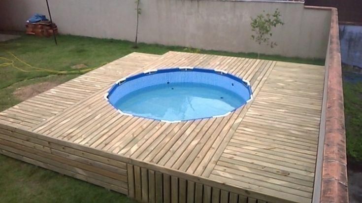 M s de 1000 ideas sobre piscina de lona en pinterest - Toldos para piscina ...