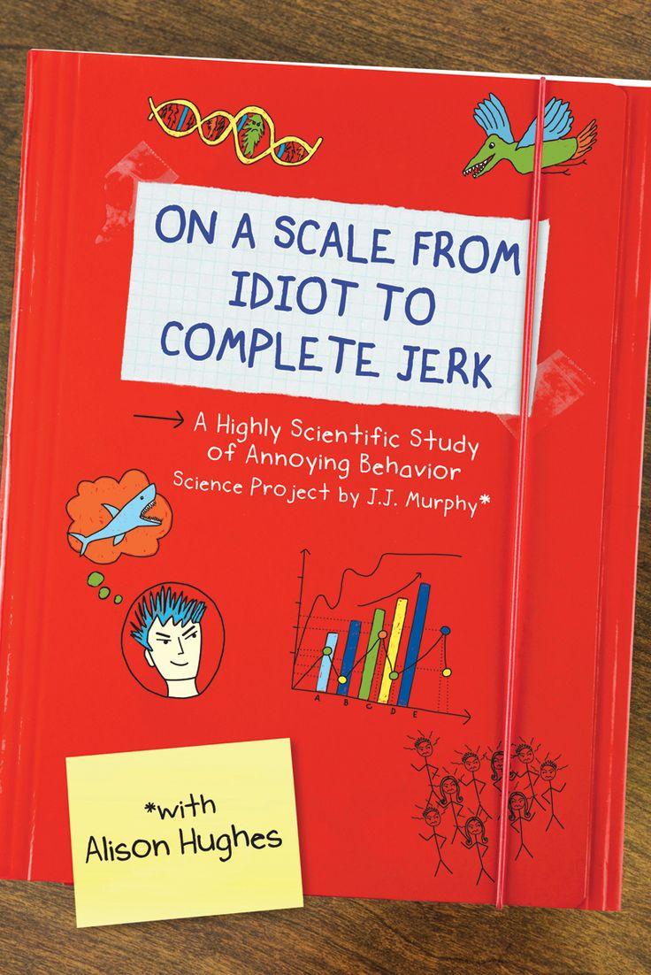 """""""On a Scale from Idiot to Complete Jerk"""" by Alison Hughes"""
