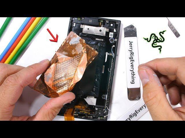 Diy Smartphone Cooler Tutorial Razer Phone 2 Teardown The