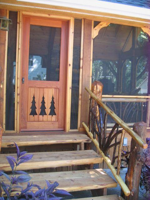 this screen door would look great on my cabin!