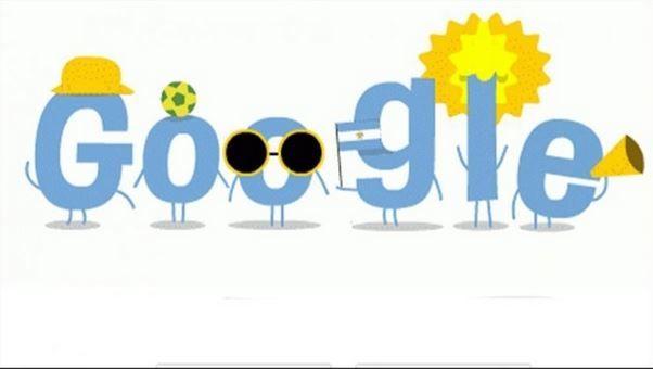 Google festeja el paso de Argentina a la final del Mundial #brasil2014