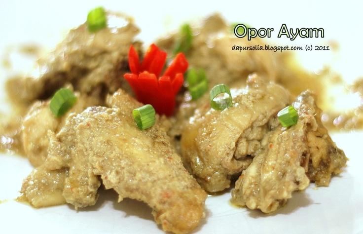 how to make opor ayam