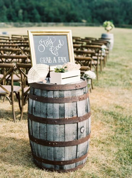 Rustic wedding decoration 2017: a touch of simplicity for your …