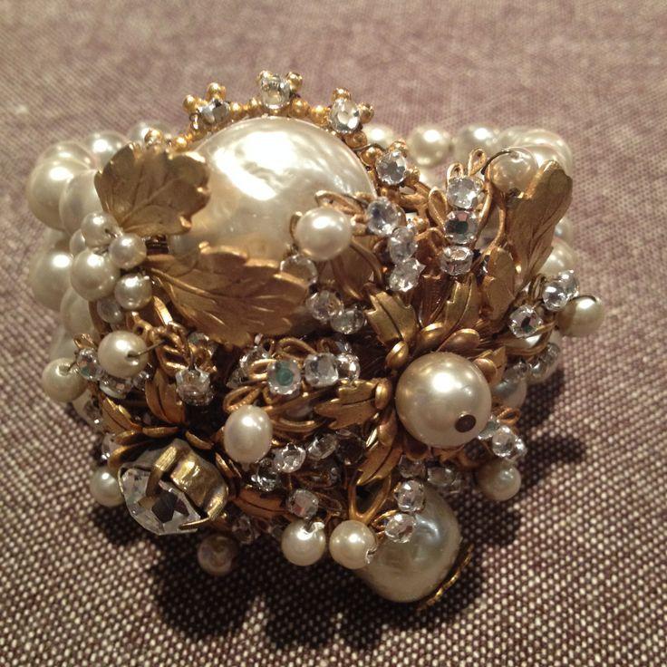 Miriam Haskell - bracelet www.glamourantiques.com