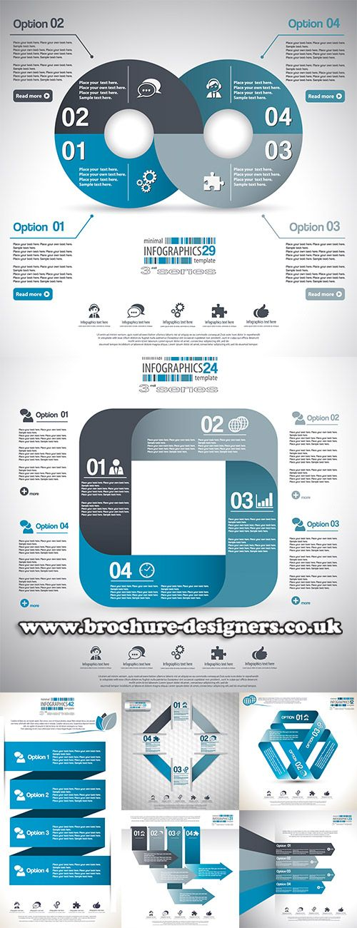 business vector infographics suitable for annual report design www.brochure-designers.co.uk #annualreport #reportdesign #infographic