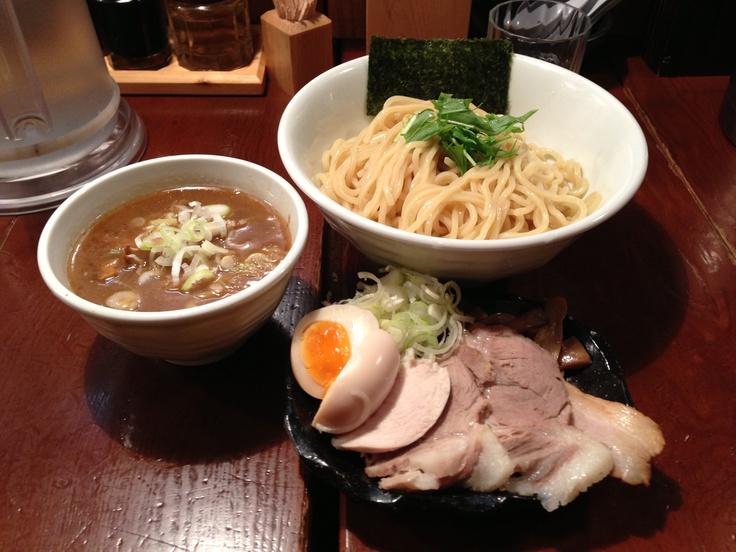 「Tsukemen Kessin」at Jiyuugaoka,Tokyo  http://tabelog.com/tokyo/A1317/A131703/13143544/