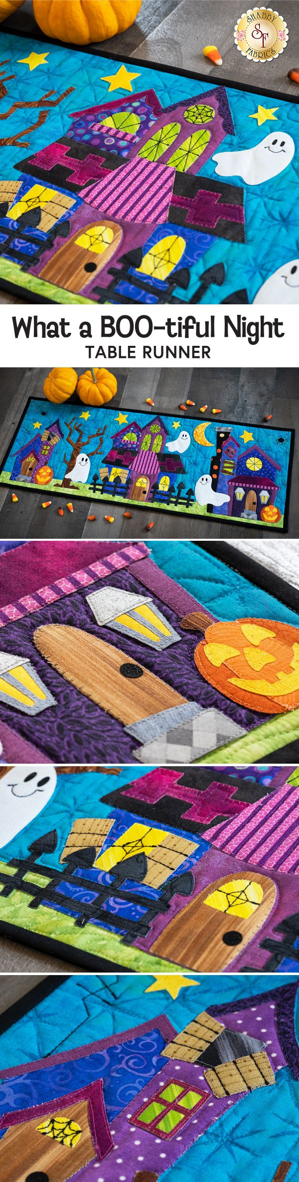 What a Boo-tiful Night Table Runner Kit