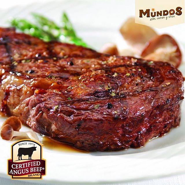 Nuestra carne #CertifiedAngusBeef nos permite elevar los estándares y ofrecerte la más alta calidad. En #MundosRestaurante disfruta de la mejor carne del mundo. Visítanos en Llanogrande. Reserva en el tel. 5371835 o por medio de www.mundos.com.co