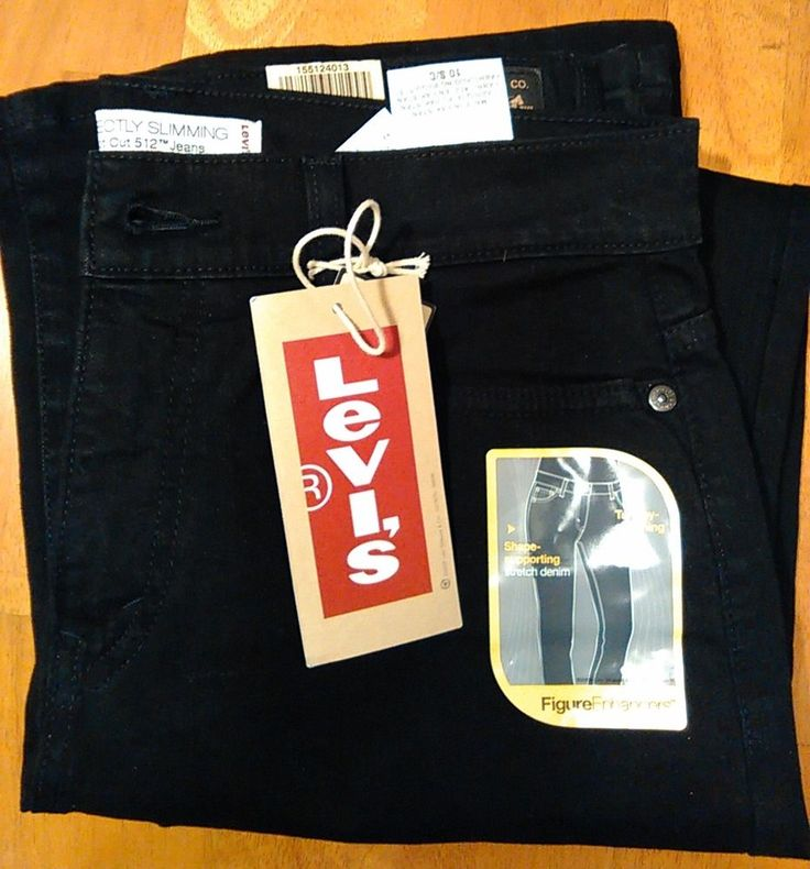 Levi's 512 Sz. 10 Short 29 W Black Women's Perfectly Slimming Boot Cut Jeans NEW #Levis #PerfectlySlimmingBootCutFlare