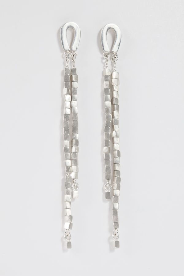 Sarah Pulvertaft, Silver tassle earrings