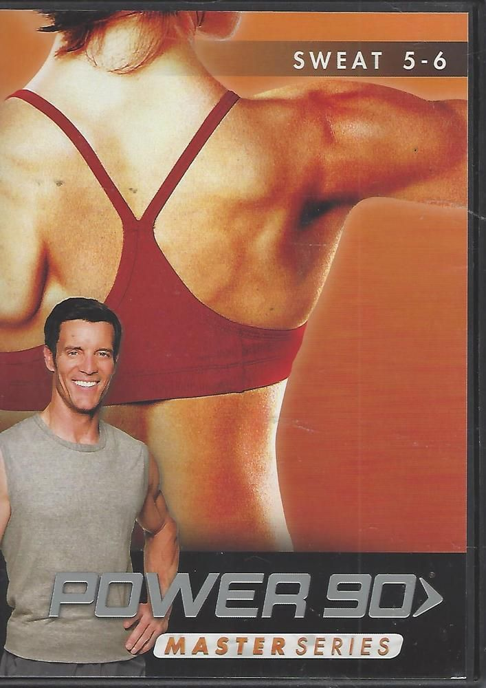 Power 90 Master Series Sweat 5 - 6 Beachbody Tony Horton