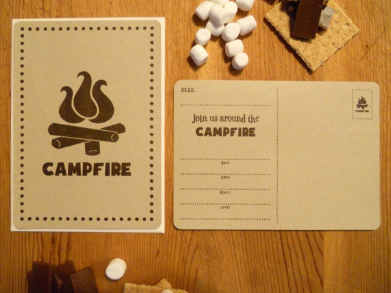 Camping Birthday Party :)