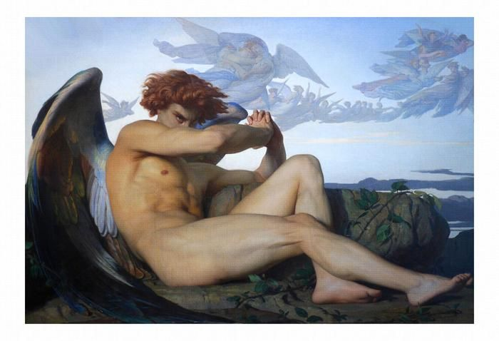 Fallen Angel 1868 1 By Alexandre Cabanel Angel Painting Cabanel Fallen Angel