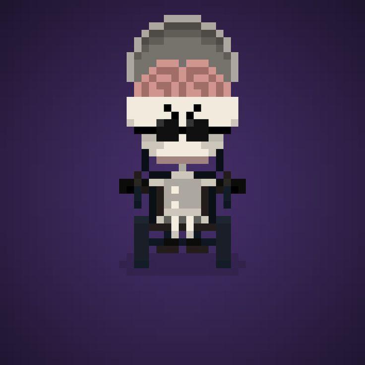 357 best Pixel Art - Famous Characters 2.0 images on Pinterest ...