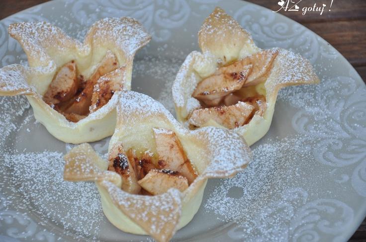 AZgotuj!: Błazenadki z jabłkami