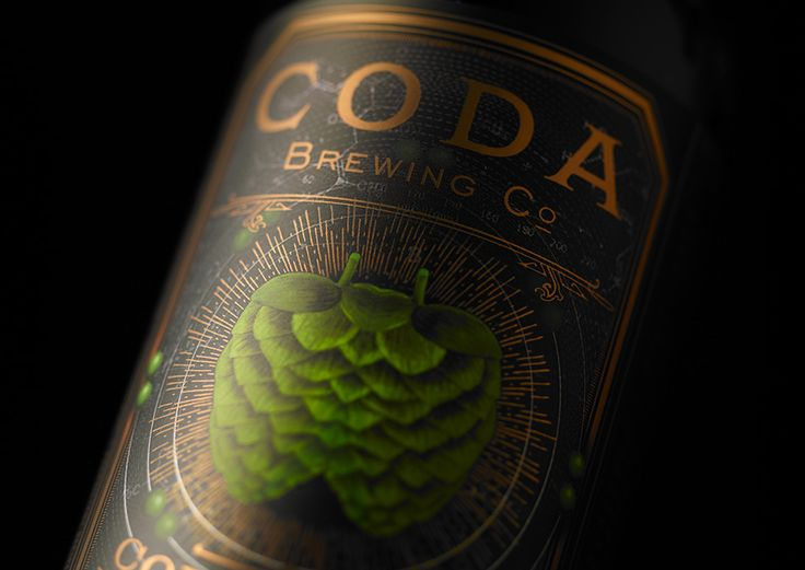 Coda Brewing Co 22oz Bottles on Packaging of the World - Creative Package Design Gallery