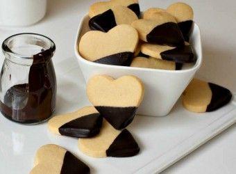 Μπισκότα βουτύρου με επικάλυψη σοκολάτας | InfoKids