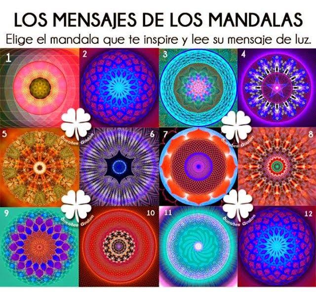 TU SALUD: MENSAJES DE LOS MANDALAS.