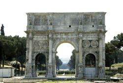 Arch of Constantine - Rome, Italy