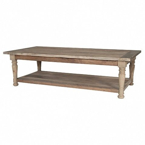 Rustic country house coffee table - Trade Secret