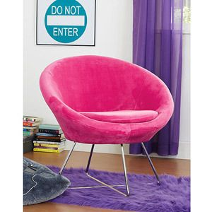 Your Zone Orb Chair Black Walmart Com For The Home
