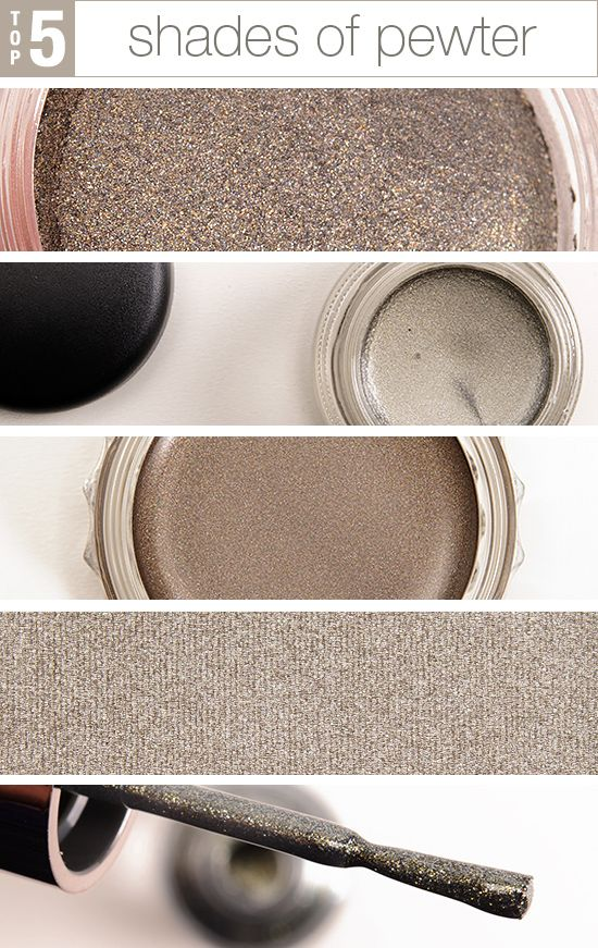 5 Shimmering Shades of Pewter