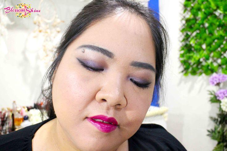 Ultraviolet Makeup 11 . #blossomshine #makeup #makeupcollaboration #stillainthemoment #purpleeyeshadow #ultraviolet #Pantone2018 #smokeyeyes #purplesmokeyeyes