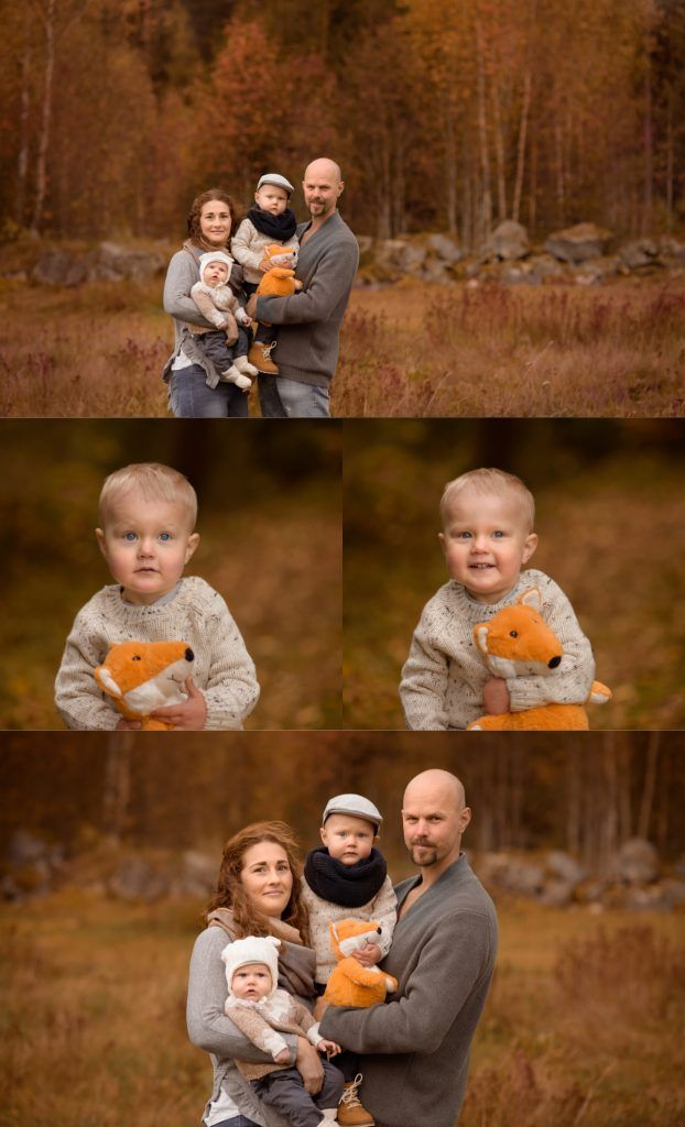 Familyphotography outdoor fall autumn colors by Swedish photographer Maria Lindberg. Familjefotografering och barnfotografering av Fotograf Maria Lindberg. www.fotografmarialindberg.se