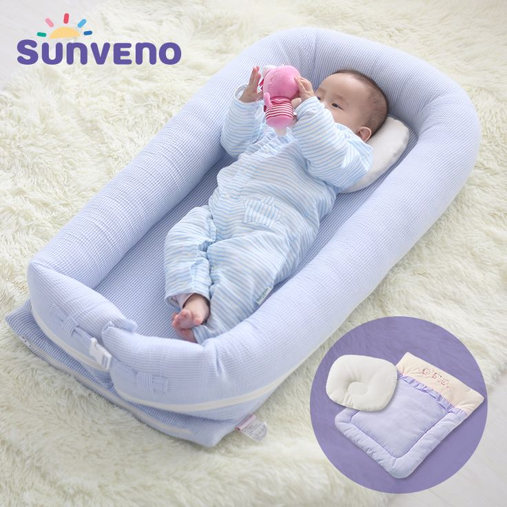 Cheap baby crib, Buy Quality travel baby beds directly from China baby bed Suppliers:  SUNVENO Portable Baby Bed Crib Newborn Infant Bedding Sleep Travel Bed with Bedding Sets Mother & Kids Baby Care 50x90x13cm