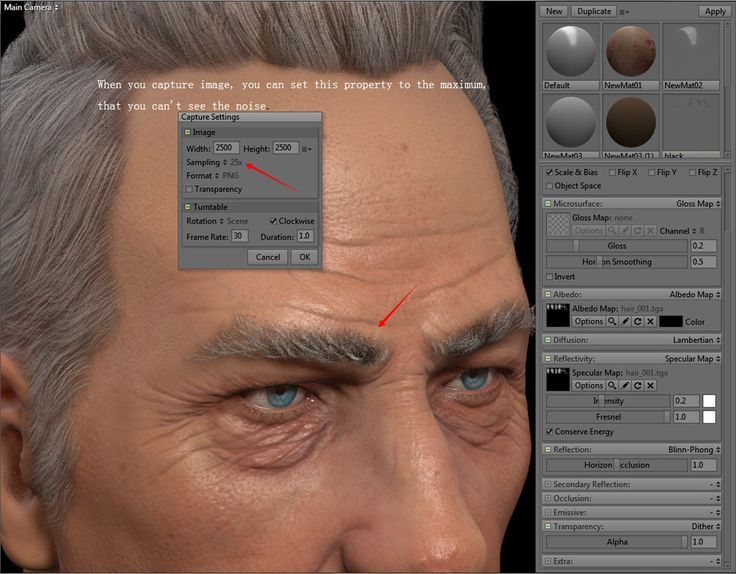 Skin Shader realtime tips 06