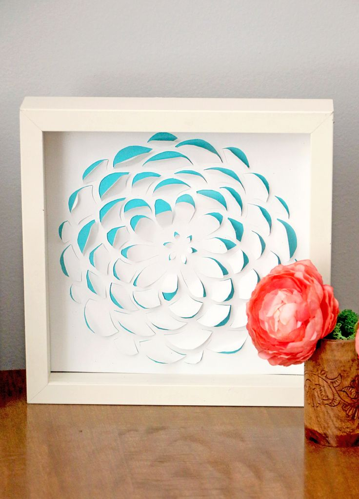 551 best diy home decor projects images on pinterest for Diy paper wall art