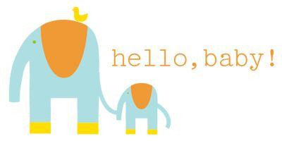 elephant baby shower printables