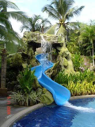 swimming pool slides pool slides underground swimming pools - House Pools With Slides