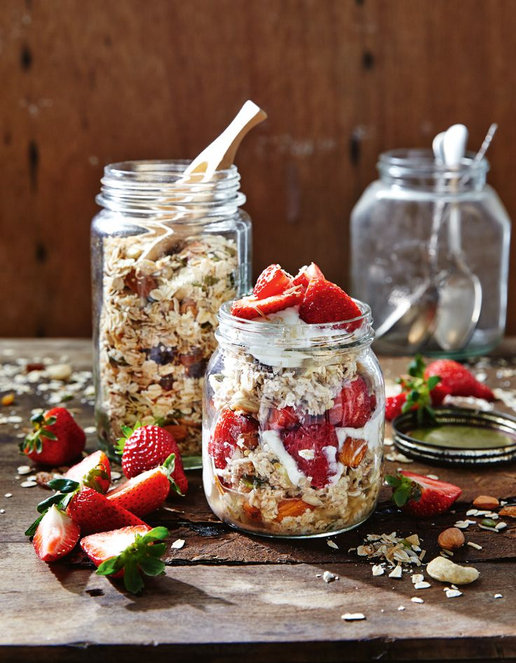 There is nothing like fresh strawberries! Try our Berry bircher muesli for breakfast. http://www.woolworths.com.au/wps/wcm/connect/Website/Woolworths/FreshFoodIdeas/Recipes/Recipes-Content/berrybirchermuesli #Woolworths #Recipe #Breakfast #Strawberry #Muesli #Quick #Easy #Fresh