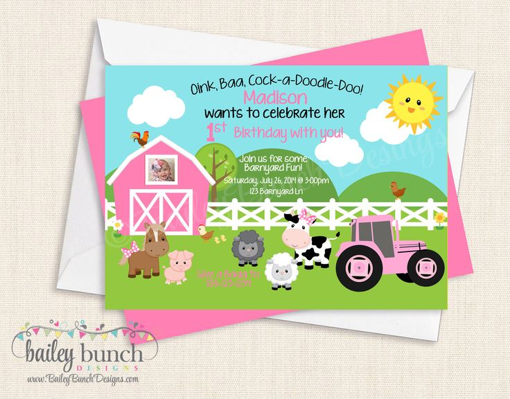 Best 25 Tractor birthday invitations ideas – How to Do Birthday Invitations