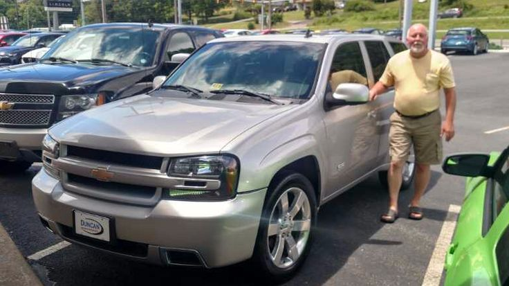 Thank you and congratulations Scott Cannon from Chesnee, SC on the purchase of your 2006 Chevrolet Trailblazer SS from Steve Price at Duncan Ford Lincoln Mazda in Blacksburg Virginia. #DuncanFLM