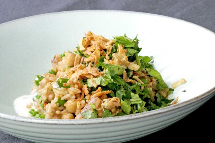 Gebakken rijst met uitjes - bekijk dit recept op keukenrevolutie.be